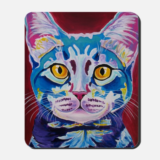 cat - mystery reboot Mousepad