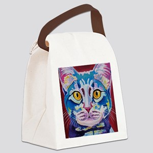 cat - mystery reboot Canvas Lunch Bag