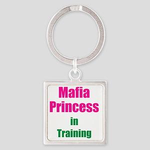 Mafia princess in training new Square Keychain