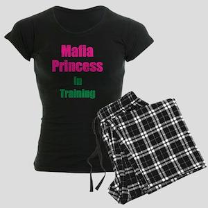 Mafia princess in training n Women's Dark Pajamas