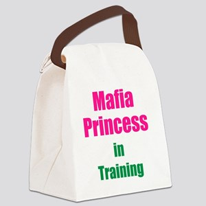 Mafia princess in training new Canvas Lunch Bag