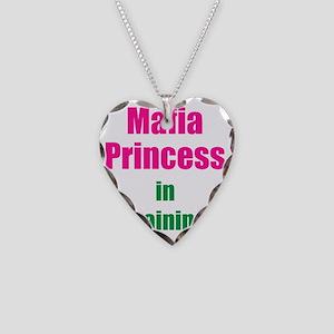 Mafia princess in training ne Necklace Heart Charm