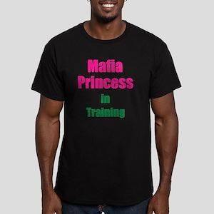 Mafia princess in trai Men's Fitted T-Shirt (dark)