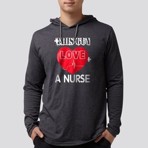 This Guy Loves A Nurse T Shirt Long Sleeve T-Shirt