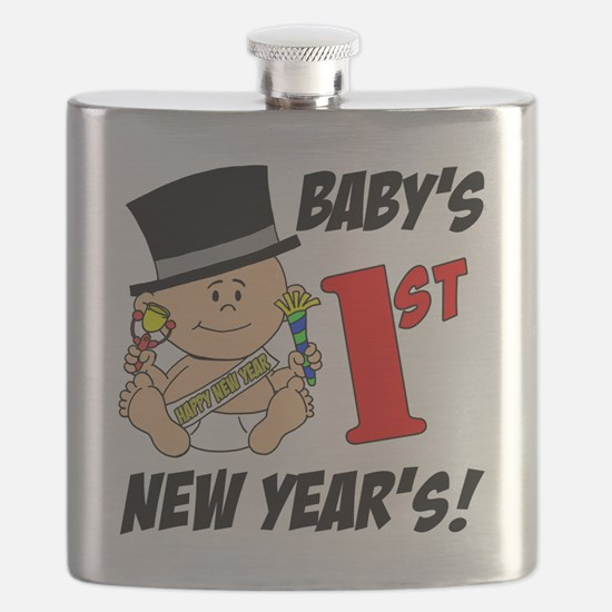Babys First New Years Flask