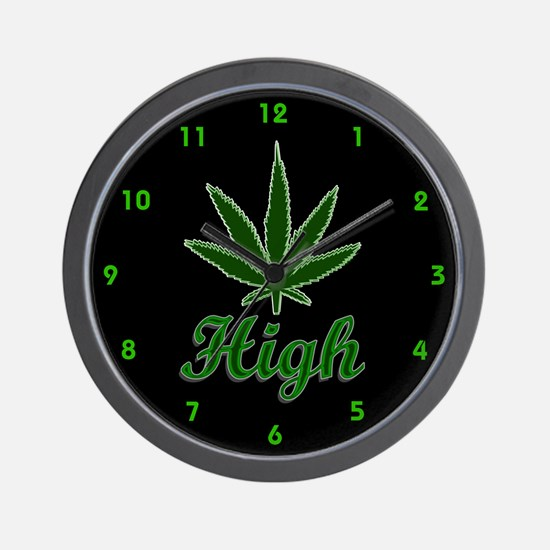 Unique Weed 420 Wall Clock