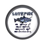 Lutefisk Wall Clock