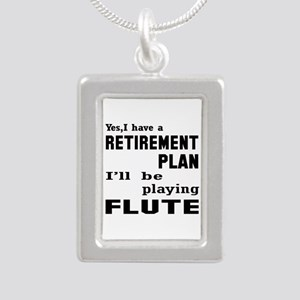 Yes, I have a Retirement Silver Portrait Necklace