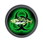 Biohazard Lutefisk Wall Clock