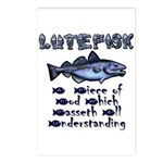 Lutefisk Postcards (Package of 8)