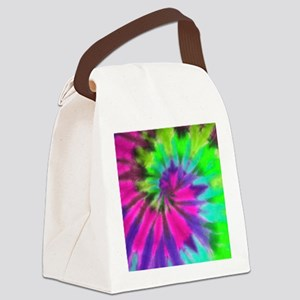 Pillow Neon Pink Canvas Lunch Bag