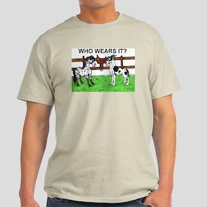 C H Who Wears It? Light T-Shirt