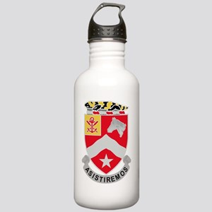9th Army Engineer Batt Stainless Water Bottle 1.0L
