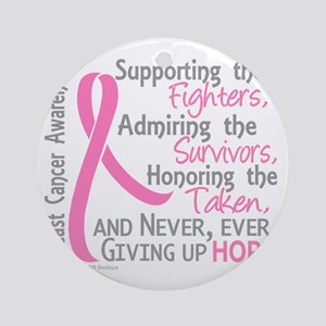 - ©Supporting Admiring Honoring BC Round Ornament