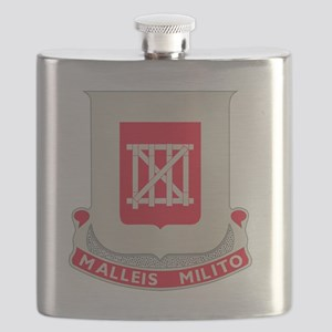 62nd Army Engineer Battalion Flask