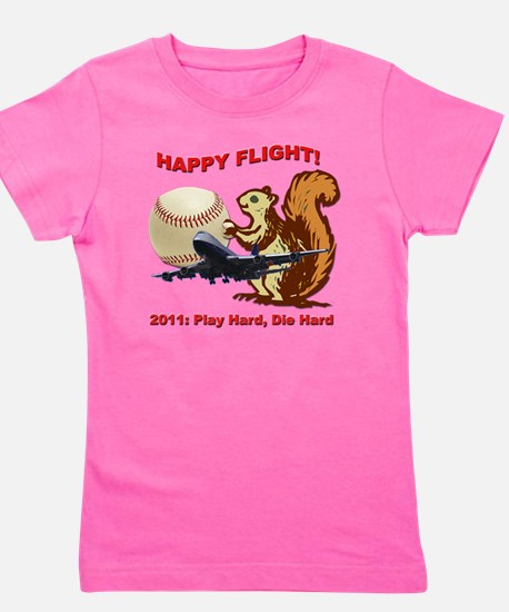 Happyflight2 copy Girl's Tee