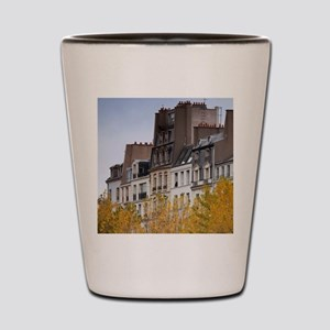 France, Paris, buildings of the Ile de  Shot Glass
