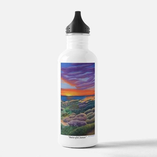 Butte-eful Sunset a sh Water Bottle