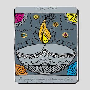Diwali fun laughter Mousepad