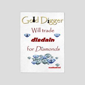LBD Gold Digger 6000 5'x7'Area Rug