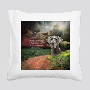 godmadedogs(button) Square Canvas Pillow