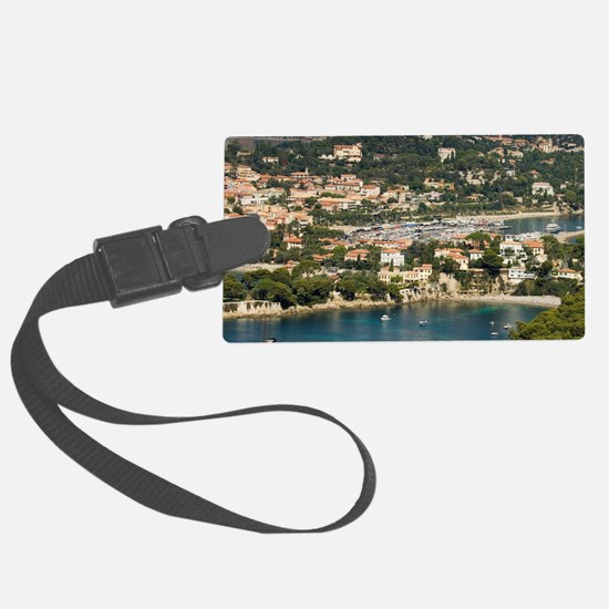 St Jean Cap Ferrat, View from He Luggage Tag