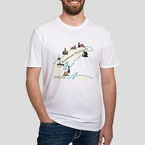 Keweenaw Peninsula Lighthouses T-Shirt