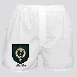 MacKay Clan Crest Tartan Boxer Shorts