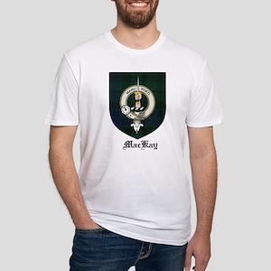 MacKay Clan Crest Tartan Fitted T-Shirt
