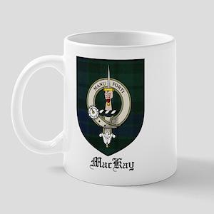 MacKay Clan Crest Tartan Mug