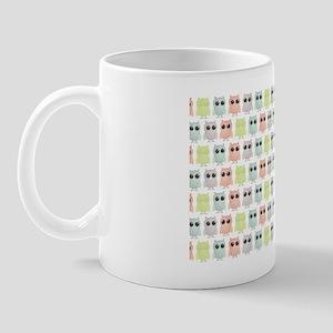 owlets_pattern_toiletrykit Mug
