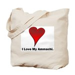 I love my ammachi Tote Bag