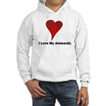 I love my ammachi Hooded Sweatshirt