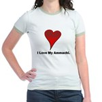 I love my ammachi Jr. Ringer T-Shirt