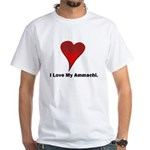 I love my ammachi White T-Shirt