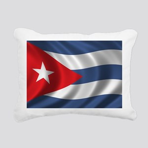 cuba_flag1 Rectangular Canvas Pillow