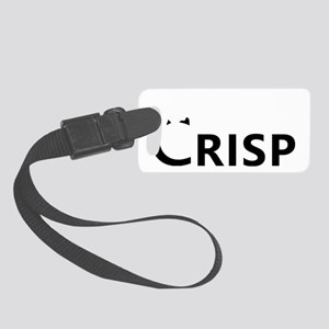 crispcityblack Small Luggage Tag