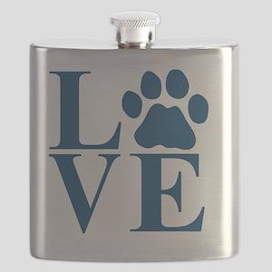 Love Paw Flask