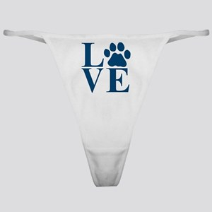 Love Paw Classic Thong