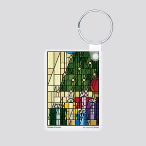 HolidayPresents2011 Aluminum Photo Keychain