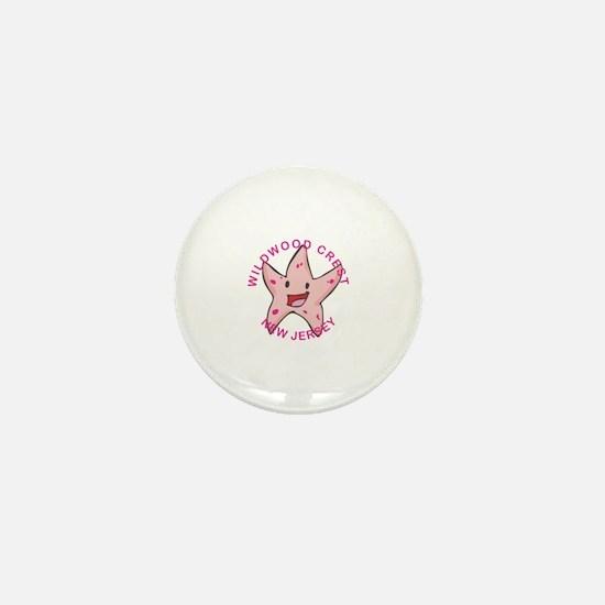 Wildwood Mini Button