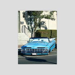 classic car 5'x7'Area Rug