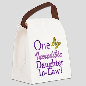 IncredibleDaughterInLaw Canvas Lunch Bag