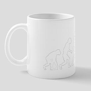 evolution weight lifting2 Mug