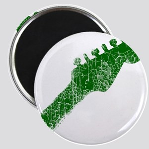 guitar headstock green2 Magnet