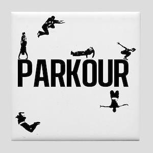 parkour4 Tile Coaster