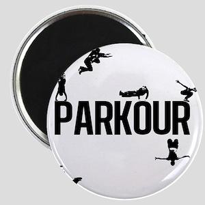 parkour4 Magnet