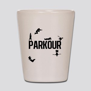parkour4 Shot Glass