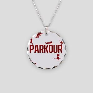 parkour4-3 Necklace Circle Charm