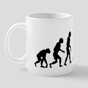 evolution weight lifting14x6 Mug